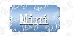 Whimsy stamps - Mini ticket die wsd126