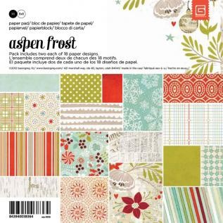 Basic Gray Paperpad - Aspen Frost