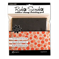 Inkssentials Rub-It Scrub-It Rubber Stamp Cleaning Pad 6