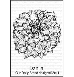 Stempel - our daily bread - dahlia