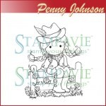 stempel - pen117 - howdy cowgirl