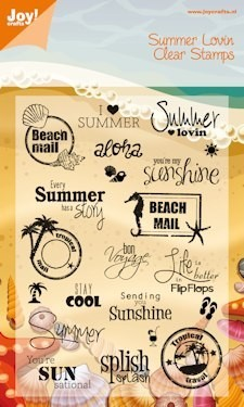 Joy! Crafts - Clearstamp - Summer Holiday