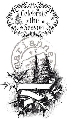 Vintage Celebrate the season - Clearstamps - Marianne Design