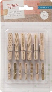 Clothespins - Crate Paper