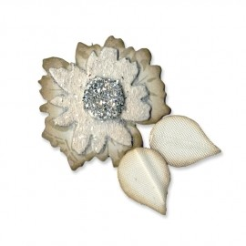 658229 Sizzix Originals Die Flower Layers With Leaf #2