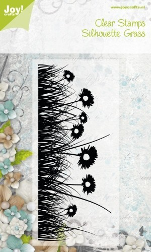 Joy! Crafts - Clearstamp Silhouett Grass - 2