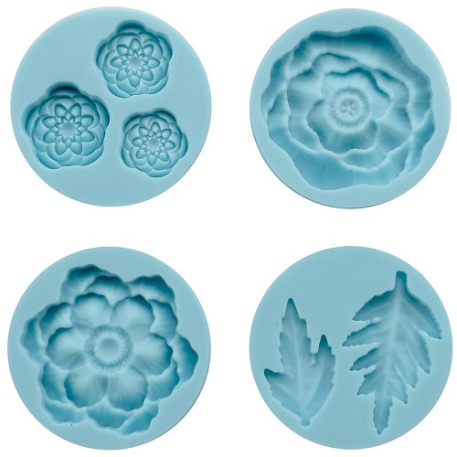 Molds zelf embellishments maken - Cheerful Flower