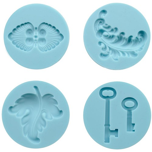 Molds zelf embellishments maken - Antique