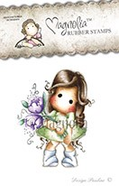 Tilda with Fantasy Flower - Magnolia stempel Lost & Found serie